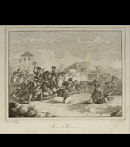 """Action in Hernani"".1834 (Zarza. 1842)"
